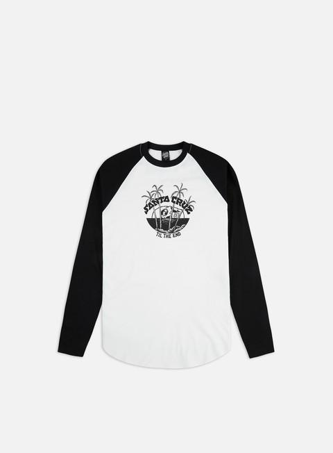 Sale Outlet Long sleeve T-shirts Santa Cruz Horizon Baseball Top LS T-shirt