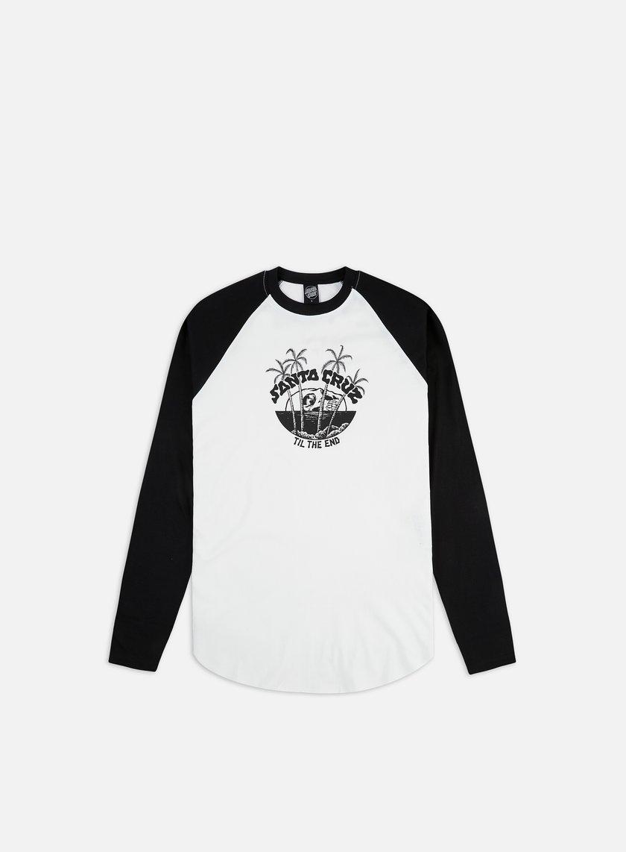 Santa Cruz Horizon Baseball Top LS T-shirt