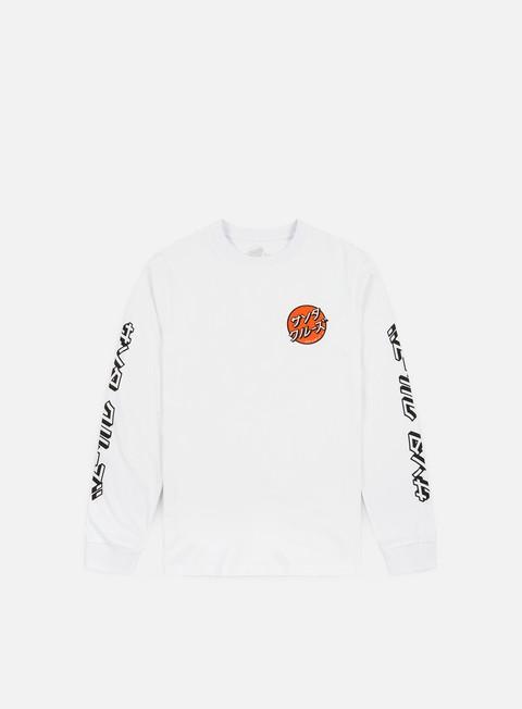 Sale Outlet Long sleeve T-shirts Santa Cruz Japanese Dot LS T-shirt