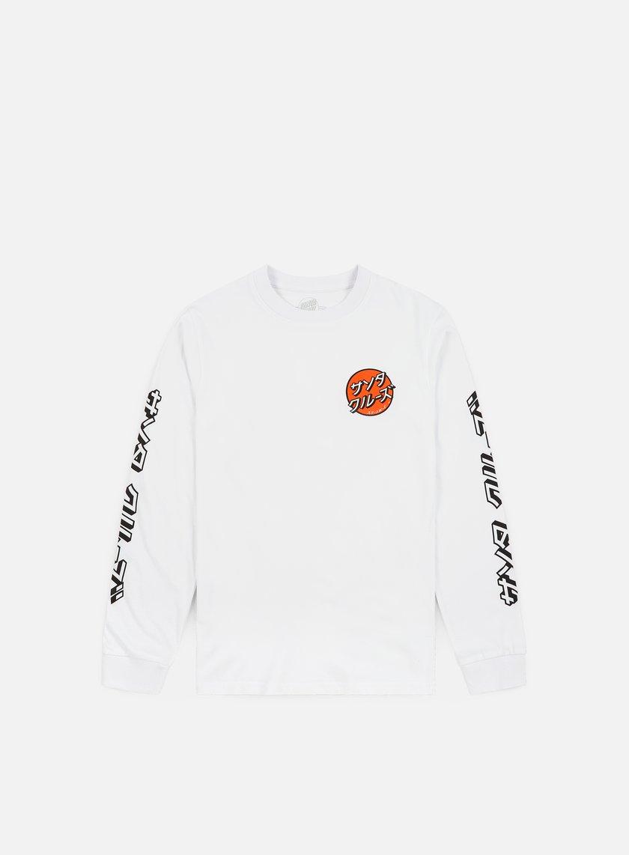 Santa Cruz Japanese Dot LS T-shirt