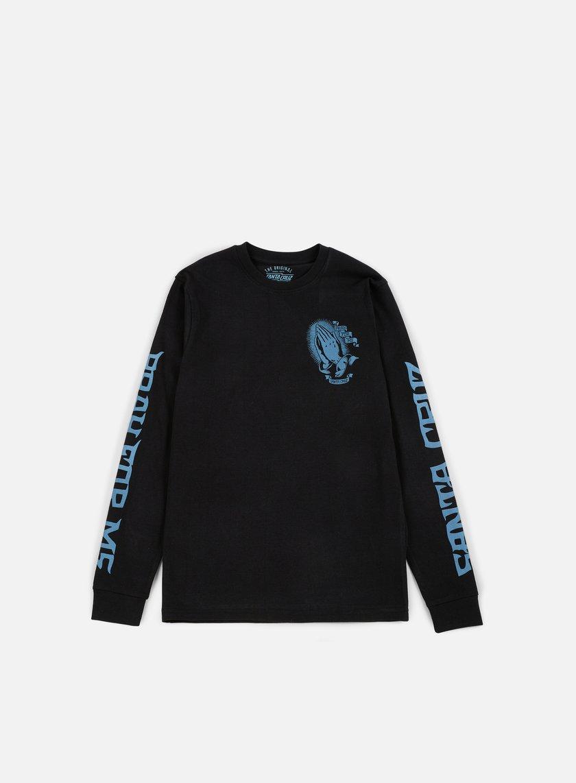 Santa Cruz - Jessee Guadalupe LS T-shirt, Black