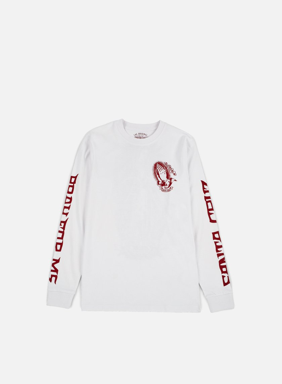 Santa Cruz - Jessee Guadalupe LS T-shirt, White