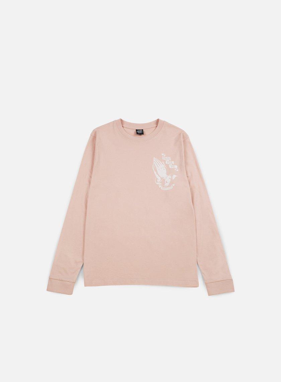 Santa Cruz - JJ Guadalupe LS T-shirt, Pink