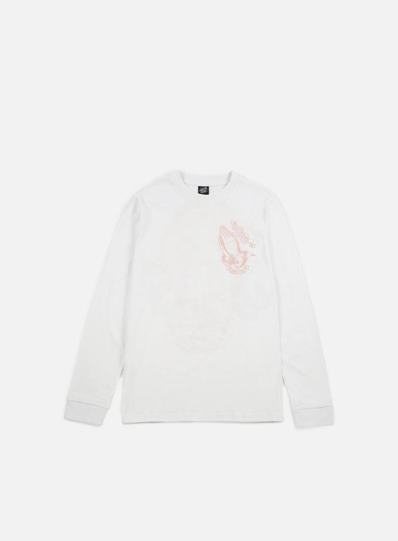 Santa Cruz - JJ Guadalupe LS T-shirt, White