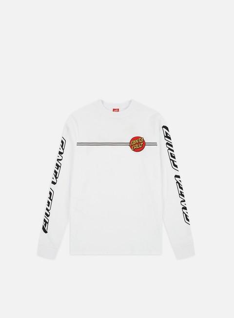 Outlet e Saldi T-shirt a Manica Lunga Santa Cruz OG Classic Dot LS T-shirt