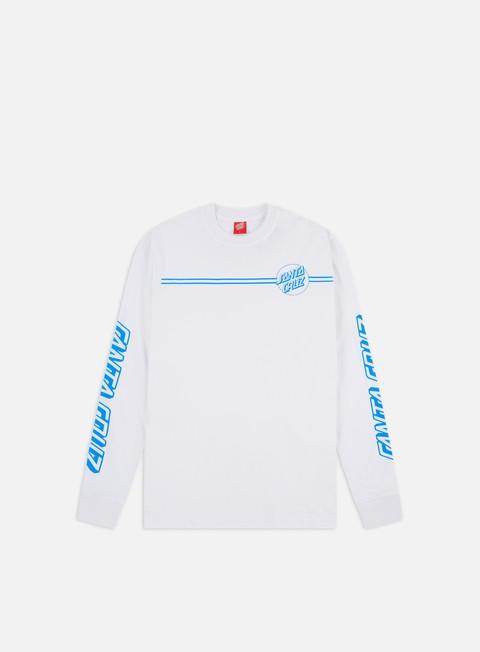 Sale Outlet Long sleeve T-shirts Santa Cruz Opus Dot Stripes LS T-shirt