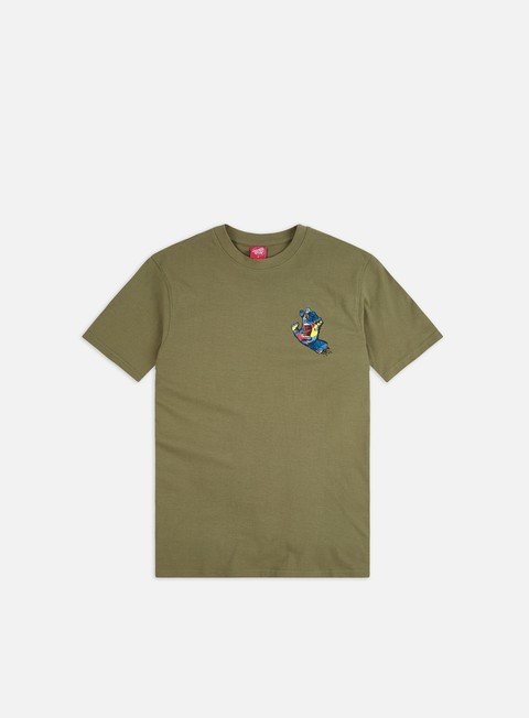Outlet e Saldi T-shirt a Manica Corta Santa Cruz Primary Hand T-Shirt
