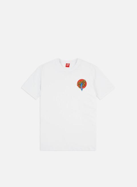 Outlet e Saldi T-shirt a Manica Corta Santa Cruz Rob Dot T-shirt