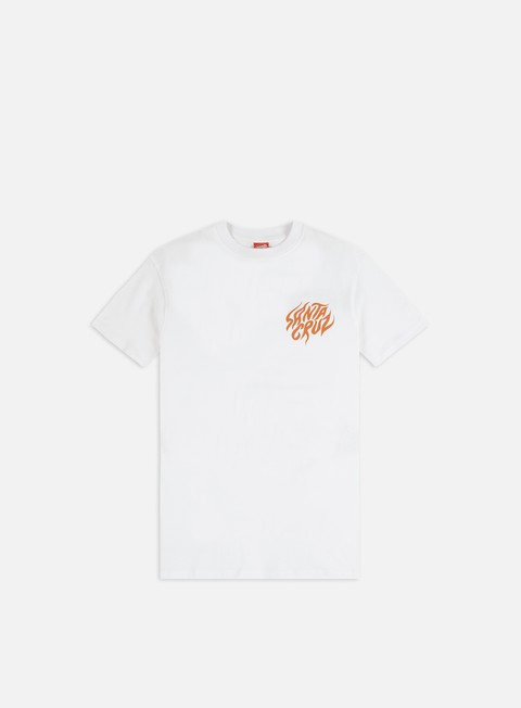 Short Sleeve T-shirts Santa Cruz Salba Tiger Hand T-shirt