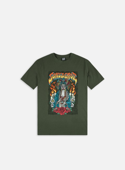 Short Sleeve T-shirts Santa Cruz Santa Muerte T-Shirt