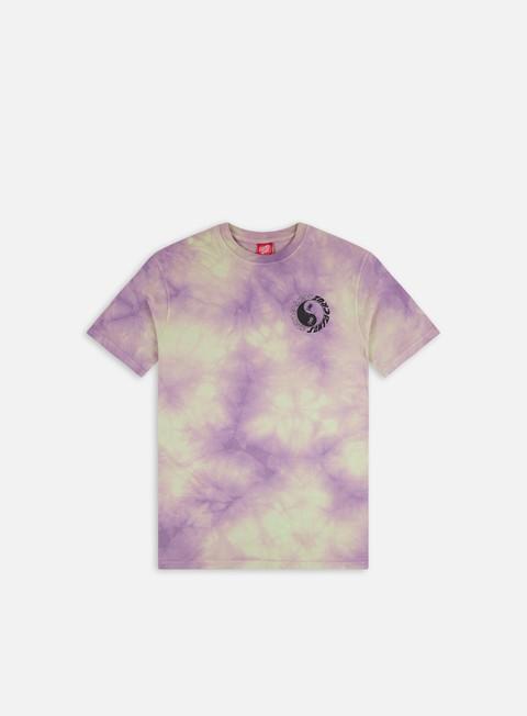 T-shirt tie-dye Santa Cruz Scream Ying Yang Chest T-Shirt