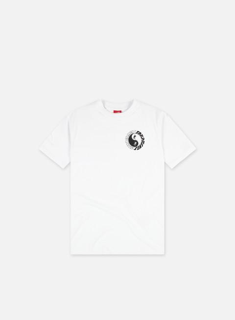 Short sleeve T-shirts Santa Cruz Scream Ying Yang Chest T-Shirt