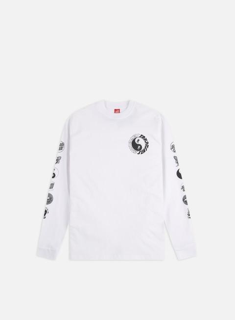 Sale Outlet Long sleeve T-shirts Santa Cruz Scream Ying Yang LS T-Shirt