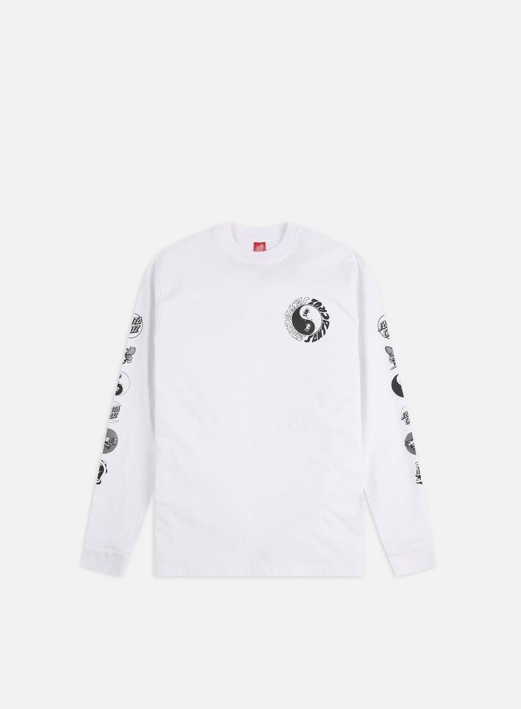 Santa Cruz Scream Ying Yang LS T-Shirt
