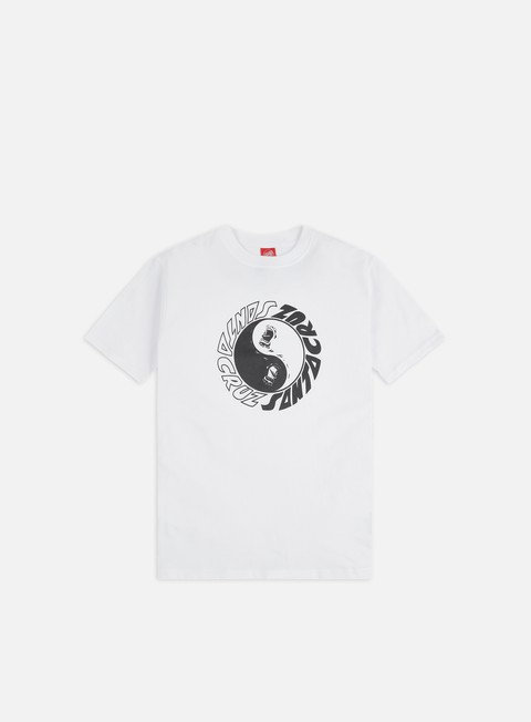 Short Sleeve T-shirts Santa Cruz Scream Ying Yang T-Shirt