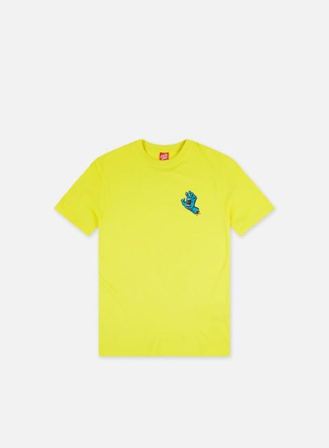 Short sleeve T-shirts Santa Cruz Screaming Hand Chest T-Shirt