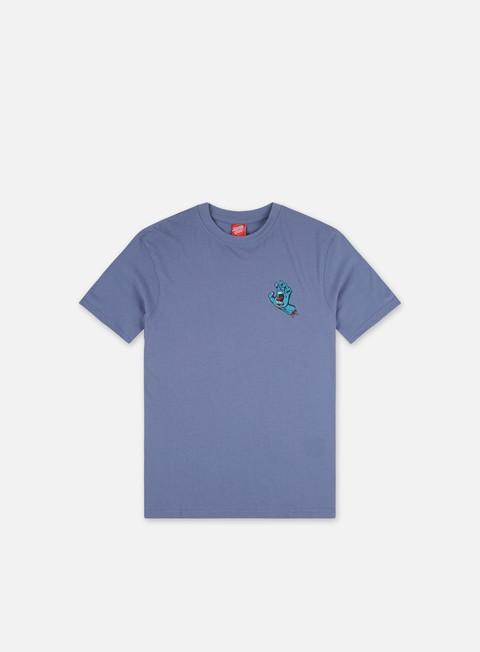 T-shirt a manica corta Santa Cruz Screaming Hand Chest T-Shirt