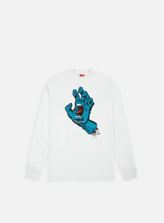 Santa Cruz Screaming Hand LS T-shirt
