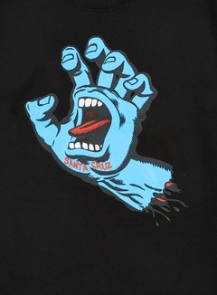 Santa Cruz - Screaming Hand T-shirt, Black 2