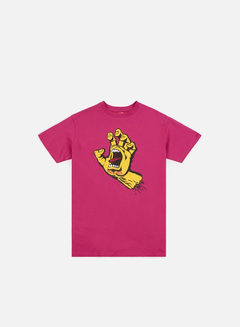 T-shirt a manica corta Santa Cruz Screaming Hand T-shirt
