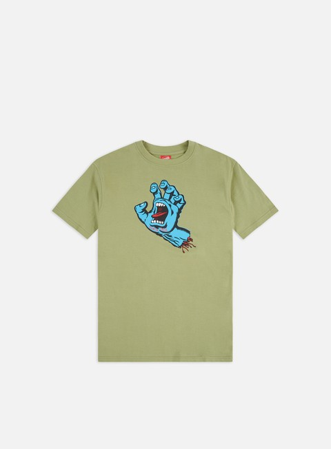 Sale Outlet Short sleeve T-shirts Santa Cruz Screaming Hand T-shirt