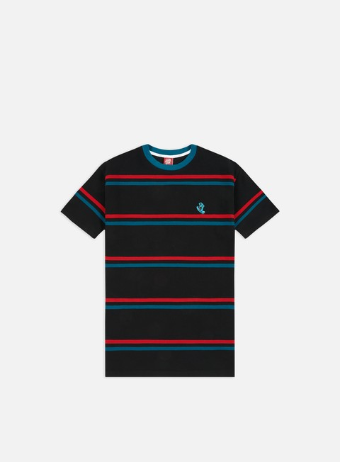 T-shirt a Manica Corta Santa Cruz Screaming Mini Hand Stripe T-shirt