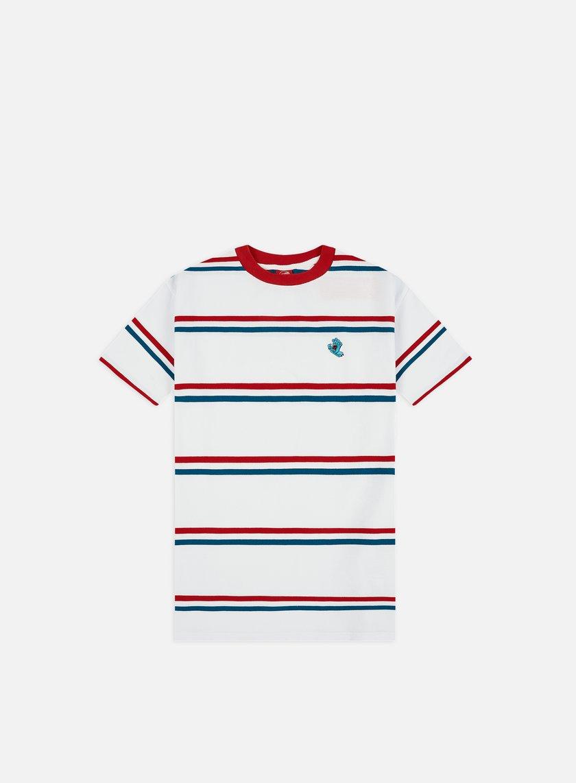 Santa Cruz Screaming Mini Hand Stripe T-shirt