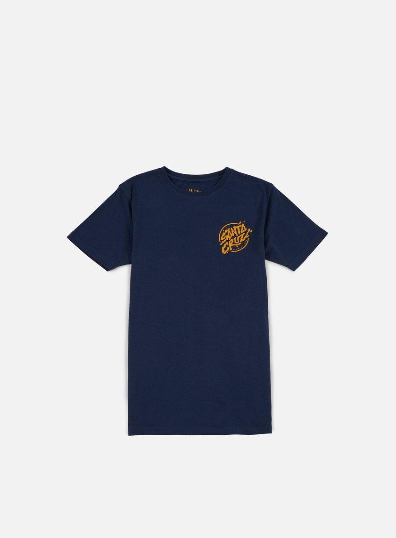 Santa Cruz - Stabbed Hand T-shirt, Indigo
