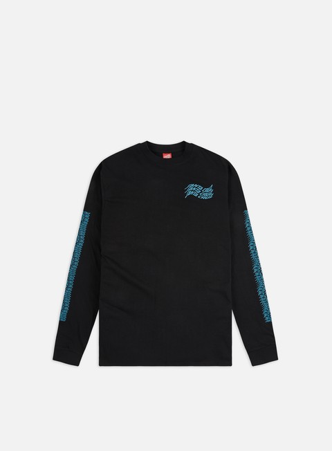 Sale Outlet Long sleeve T-shirts Santa Cruz Vortex Hand LS T-Shirt