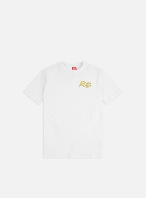 Outlet e Saldi T-shirt a Manica Corta Santa Cruz Vortex Hand T-Shirt