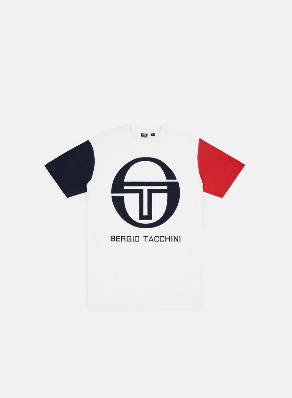 66c07546b Sergio tacchini icona shirt white navy short sleeve shirts jpg 674x674 Sergio  tacchini shirts