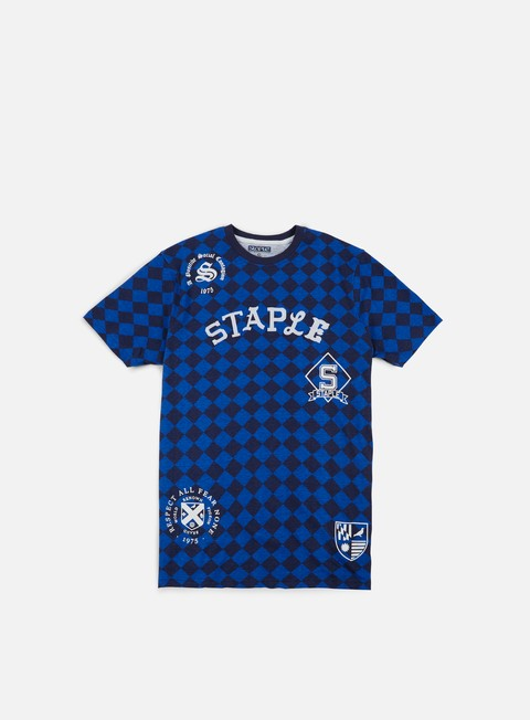 t shirt staple argyle team t shirt royal