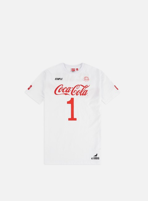 Short Sleeve T-shirts Staple Coca Cola Ice Cold T-shirt