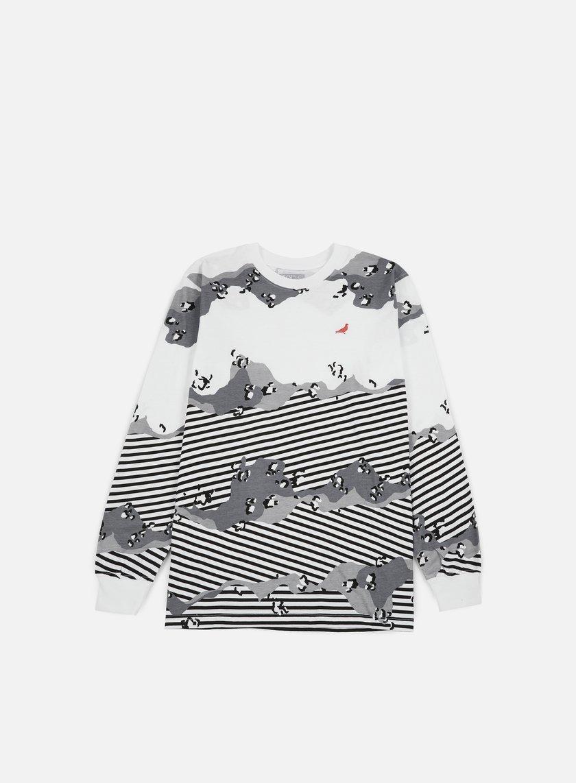 Staple Concrete Stripe LS T-shirt