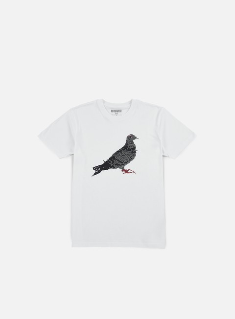 t shirt staple pigeon laces t shirt white