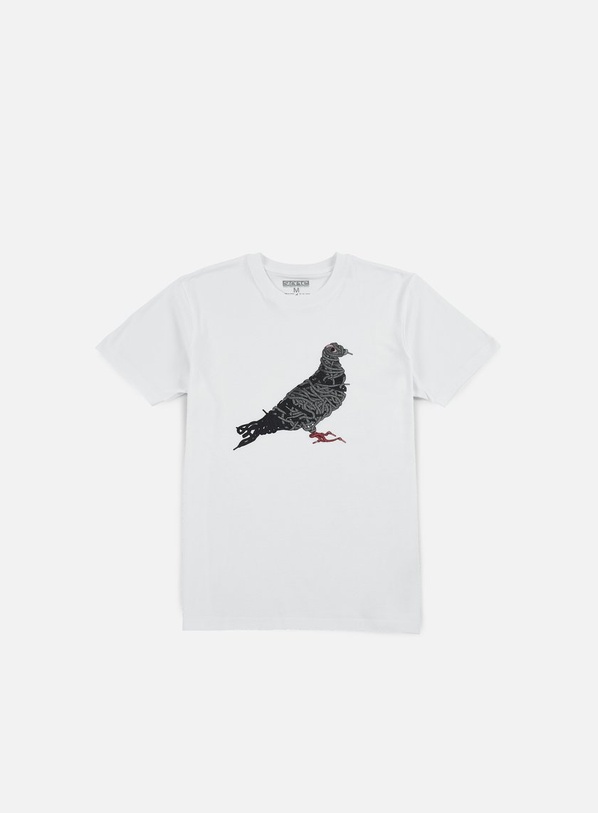 Staple - Pigeon Laces T-shirt, White