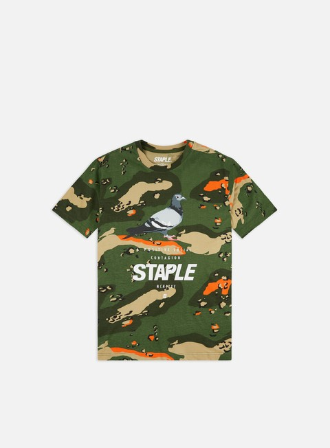 Short Sleeve T-shirts Staple Pigeon Logo T-shirt