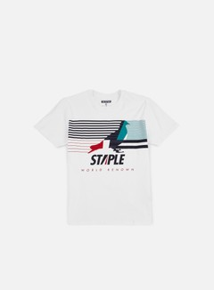 Staple - Sails Pigeon T-shirt, White 1