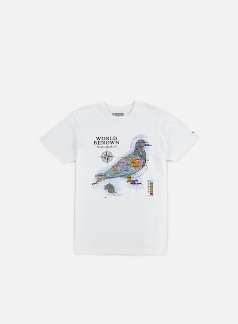 Outlet e Saldi T-shirt a Manica Corta Staple World Pigeon T-shirt