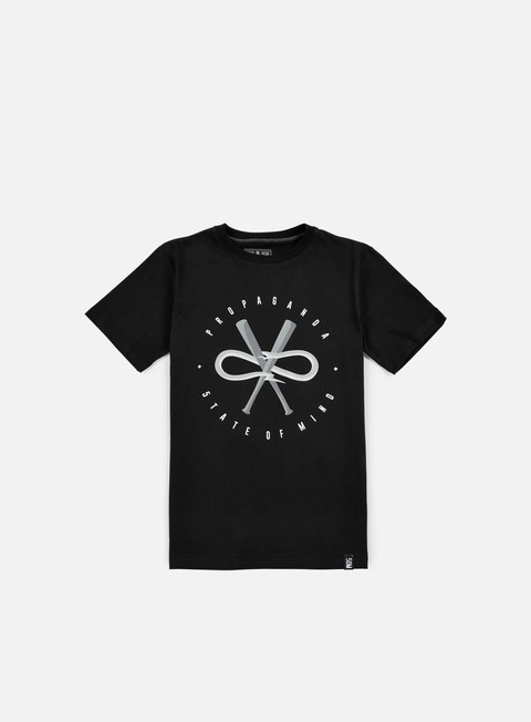 t shirt state of mind 5om x propaganda snake t shirt black