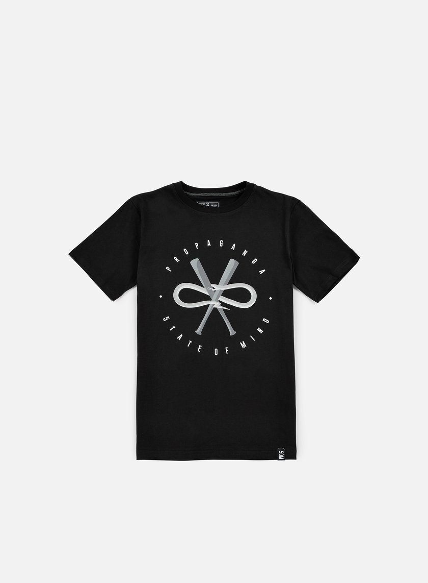 State Of Mind - 5OM x Propaganda Snake T-shirt, Black