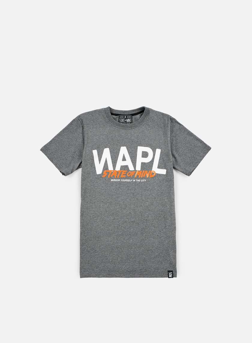 State Of Mind - Napl Celebration III T-shirt, Dark Heather Grey