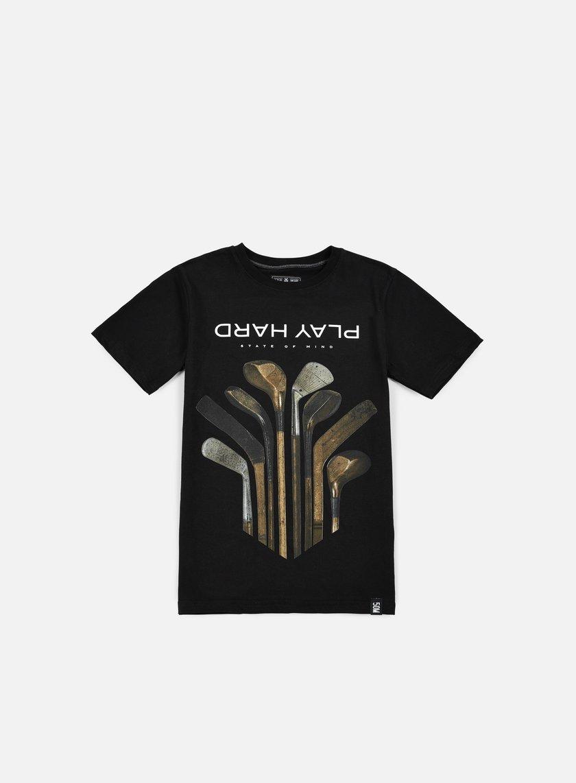 State Of Mind - Play Hard II T-shirt, Black