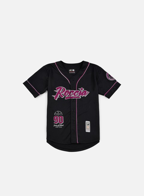 t shirt state of mind roccia baseball jersey black