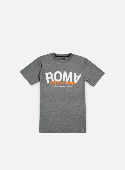t shirt state of mind roma celebration iii t shirt dark heather grey