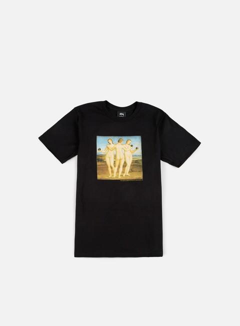Outlet e Saldi T-shirt a Manica Corta Stussy 8 Ball Girls T-shirt
