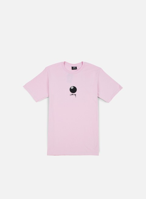 t shirt stussy 8 ball stock t shirt light lavender