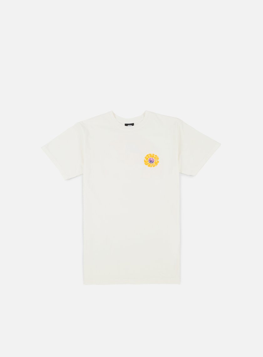 Stussy - Acid Drop Pigment Dyed T-shirt, Natural