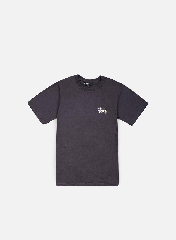 Stussy - Basic Logo T-shirt, Charcoal