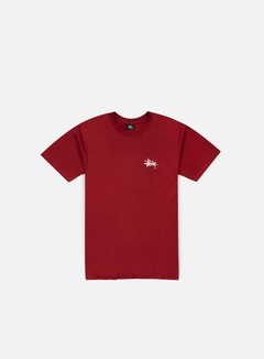 Stussy - Basic Logo T-shirt, Dark Red 1